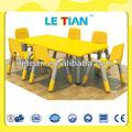 Fantabulous! Crianças pré-escolar mobiliário conjunto de mesa e cadeiras lt-2145d