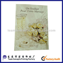 Promotional handmade greeting cards for new year