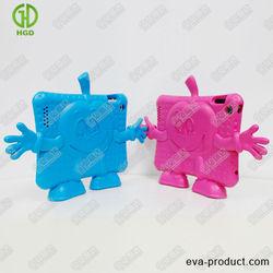 smiling AppleGuy tablet pc case,Soft Kids Shockproof cute tablet pc case