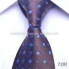 custom logo silk necktie men's ties