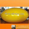 Aufblasbaren blase 2013 eiförmigen für rc zeppelin ballon( luftschiff)