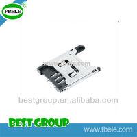 SIM CARD 2.54mm 6P H=1.8mm PEDAL LIFT TypeFBSIM1-102