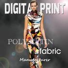 2014 new design swimwear print fabric poly / Z48