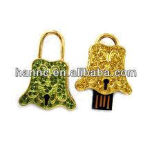 hot selling jewelry/diamond usb flash drive
