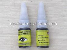 wholesale top quality professional black eyelash extension adhesive