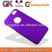 New purple Aluminum Plastic Hard Case for iphone5