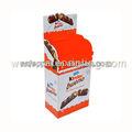 pos venda promoção item cartão cartão de varejo embalagem caixa de chocolate com moldes