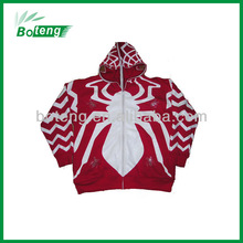 Detachable mens fleece hoody jacket