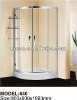 Small cheap 1 piece shower enclosures C640