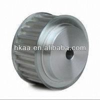 Small mini timing belt pulley, mini aluminum pulley