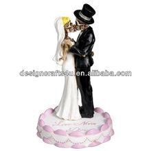 hot sale wedding skulls figurine statue wedding favor