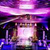 JOH good quality fireproof decorative wedding backdrop curtain
