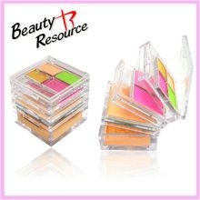MK8036 Beauty Resource lip balm & powder& eyeshadow &blusher 4 in 1 makeup kit