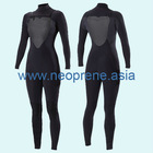 Super Elasticity Neoprene Diving Suit for Chest Zipper