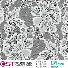 lace design jacquard elastic