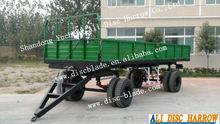 7CX series tipping trailer four wheels farm trailer