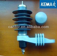 11kV Metal-oxide lightning arrester 11kv surge arrester(KEMA)