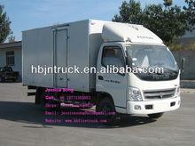 4ton Foton cargo box Truck
