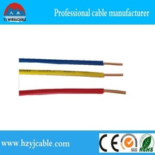 1.5mm 2.5mm pvc wire 4mm wire price of copper wire 4mm
