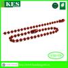 Metal ball chain shimmer screen,bead dog key chain,abacus key chains