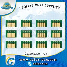 Z3100/Z3200 ARC chips for hp 70#