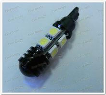 Sales! T10 194 168 W5W 5050 8 SMD + 1.5W Lens High Power LED Lights, Led Signal Bulbs Led License Plate Lamps,led car light t10
