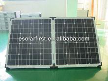 80w folding solar panel,foldable solar kit for RV camp