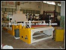 Industrial roll tissue machine