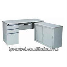 Modern Steel Desktop Computer Table