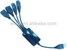 4 Port USB hub with Octopus Design
