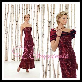red strapless mother of the bride dresses designer dresses