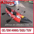 usado de corrida inflável caiaque racing barco inflável para venda