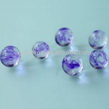 decorative marbleized photo beads