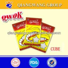 QWOK CHICKEN/BEEF/SHRIMP HALAL SEASONING CUBE STOCK CUBE BOUILLON CUBE SOUP CUBE