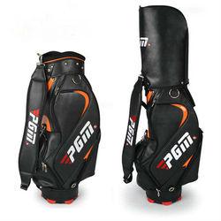quality pu golf boston bag for professional golfer fashion golf boston bag