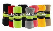 cozy 50x60 fleece blanket(assorted)throw. sales promotion