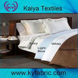 205T 100%cotton or t/c 0.5cm stripe bedding fabric