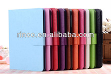 "Shine PU Leather Case Cover Skin For Apple Ipad MINI 7""tablet case"