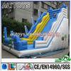 Newest popular log tire inflatable toboggan slide