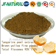 100% natural Tangerine skin Extract high flavones110%