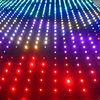 fireproof velvet led holiday light/ wedding stage backdrop