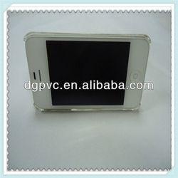 cell phone holder plastic ,aluminum metal silver desktop holder compass mobil, adjustable stand for iphone