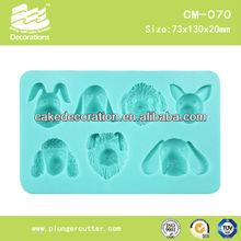 Silicone fondant cake decoration mold/mould