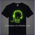 Jiangxi personalizado china led t- shirt