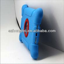 2013 new arrival cute unique design soft silicone back case cover for ipad mini&mini ipad