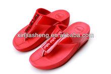 2014 china wholesale diamond flat lady fancy sandal shoe