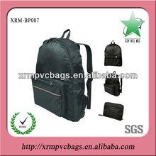 Fashion nylon fold up backpack