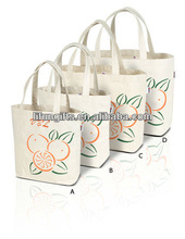 2014 Recycled 10oz/18oz cotton market bag with canvas handles