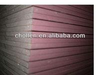 pink fireproof drywall/gyspum board/plasterboard