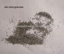 Zinc shot Granules in small size